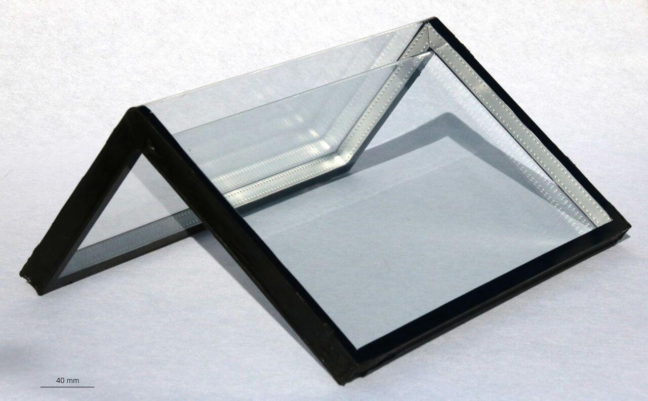 خم کردن صفحات شیشهای با زاویه راست امکانپذیر شد