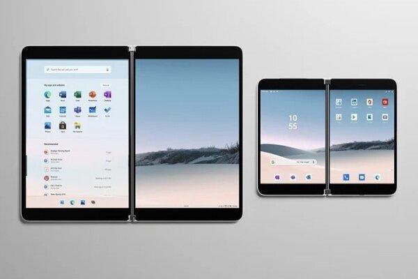 مشخصات جدید موبایل مایکروسافت با ۲ نمایشگر