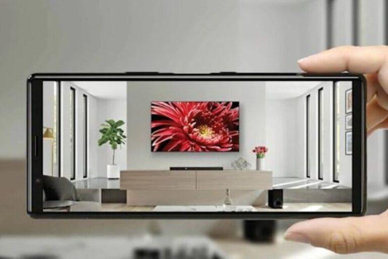 استفاده از اپلیکیشن AR برای فروش تلویزیونهای سونی