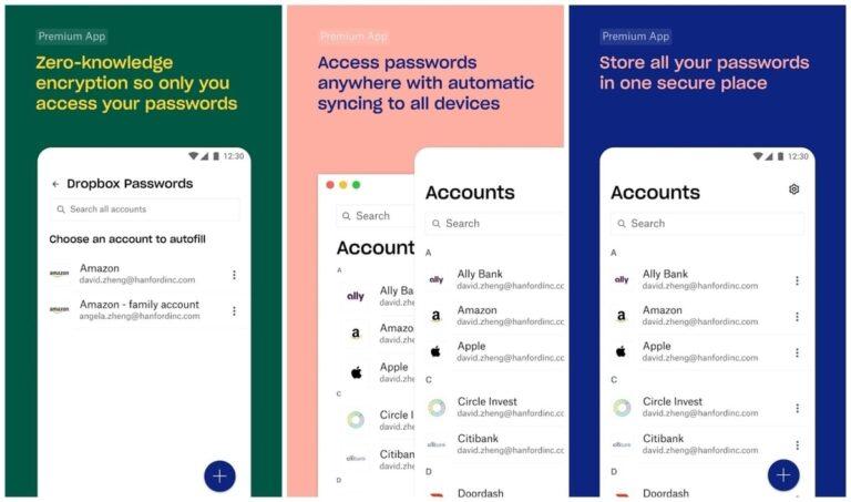 دراپباکس اپلیکیشن مدیریت رمز عبور خود را معرفی کرد