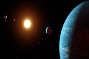 رصد یک سیاره خارج از منظومه شمسی در نزدیکی زمین