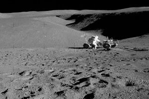 ساخت ایستگاه در ماه با استفاده از خاک ماه