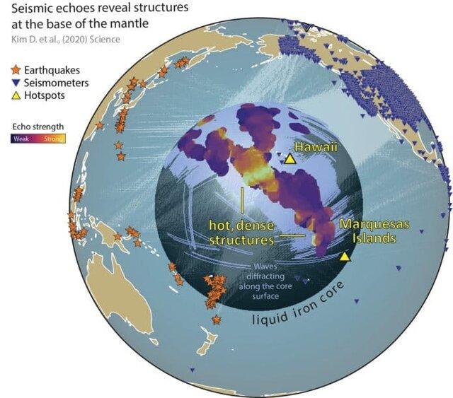 کشف حقایقی جدید درباره ساختارهایی در اعماق زمین