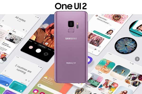 بهروزرسانی One UI 2.1 برای گوشیهای سری گلکسی ۹ بهزودی عرضه میشوند