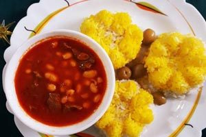 طرز تهیه غذای ترکیه ای فاصولیه (عکس)