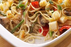 طرز تهیه چیکن تترازینی؛ تجربه طبخ غذای ایتالیایی