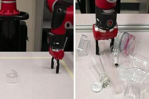 حل مشکل رباتها در بلند کردن اشیاء شفاف