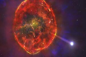 """ستارهای که پس از انفجار """"ابرنواختر"""" زنده ماند"""