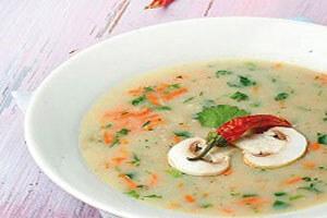 طرز تهیه سوپ سفید