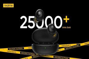 ۲۵،۰۰۰ واحد ریلمی بادز Q در روز اول فروش فروخته شد