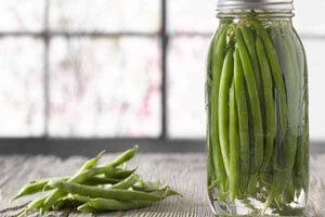 طرز تهیه ترشی لوبیا سبز؛ جدید و جذاب