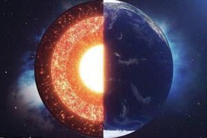 هسته زمین ۱.۳ میلیارد سال قبل سخت شد