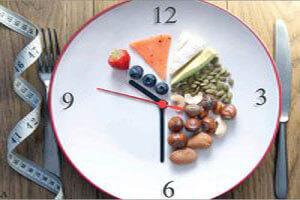 سرساعت غذا بخورید، چاق نمیشوید