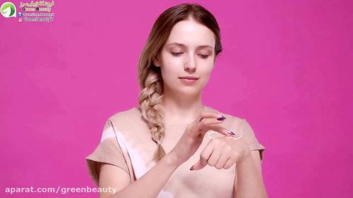 آرایش کامل با محصولات NUDE گلدن رز