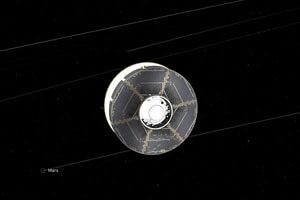 مریخنورد ناسا نیمی از راه را طی کرد