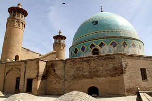 مسجد جامع بروجرد شاهکار تاریخ معماری