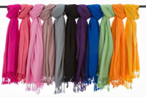 نکاتی در رابطه با خرید شال و روسری