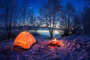 نکاتی برای کمپ زدن در زمستان و هوای سرد