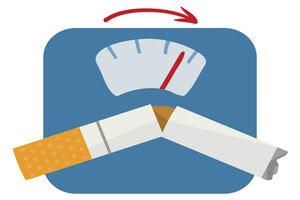ارتباط ترک سیگار و افزایش وزن