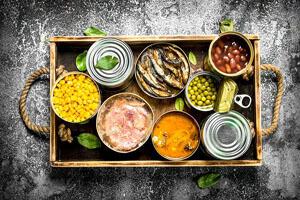 بدن پس از مصرف غذاهای کنسروی