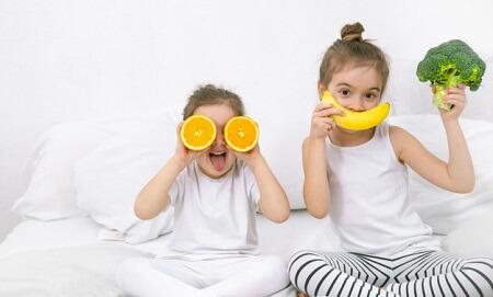 بهترین میوه ها و سبزیجات برای کودکان
