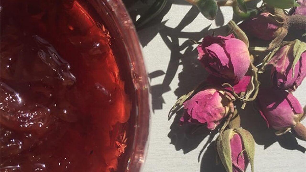 طرز تهیه مربای گل؛ طعمی فراموشنشدنی